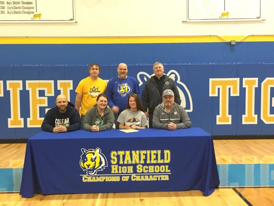 Senior Wrestler Signs Letter of Intent with Eastern Oregon University